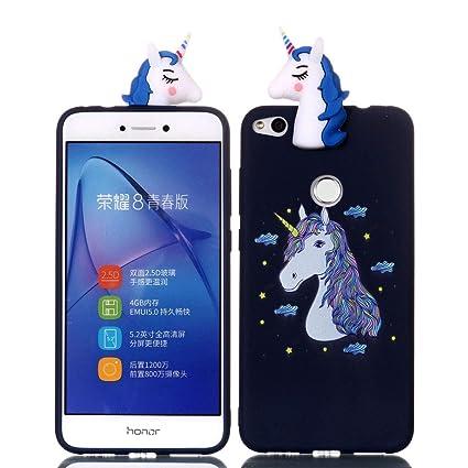 YuanYuZhongPhoneSky Huawei P8 Lite 2017 Carcasa Silicona 3D ...