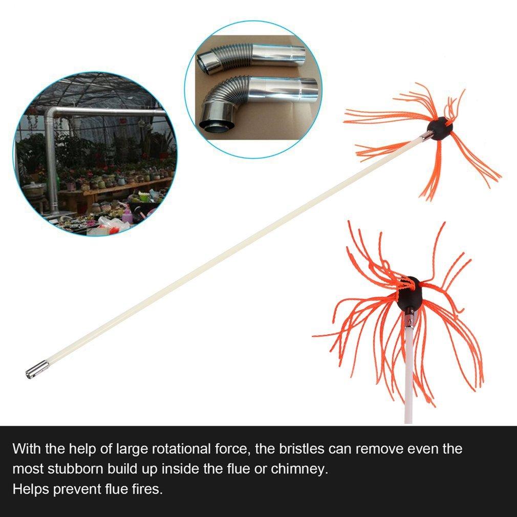 10 Metre Set TataYang Chimney Sweep Cyclone Power Brush DIY Set