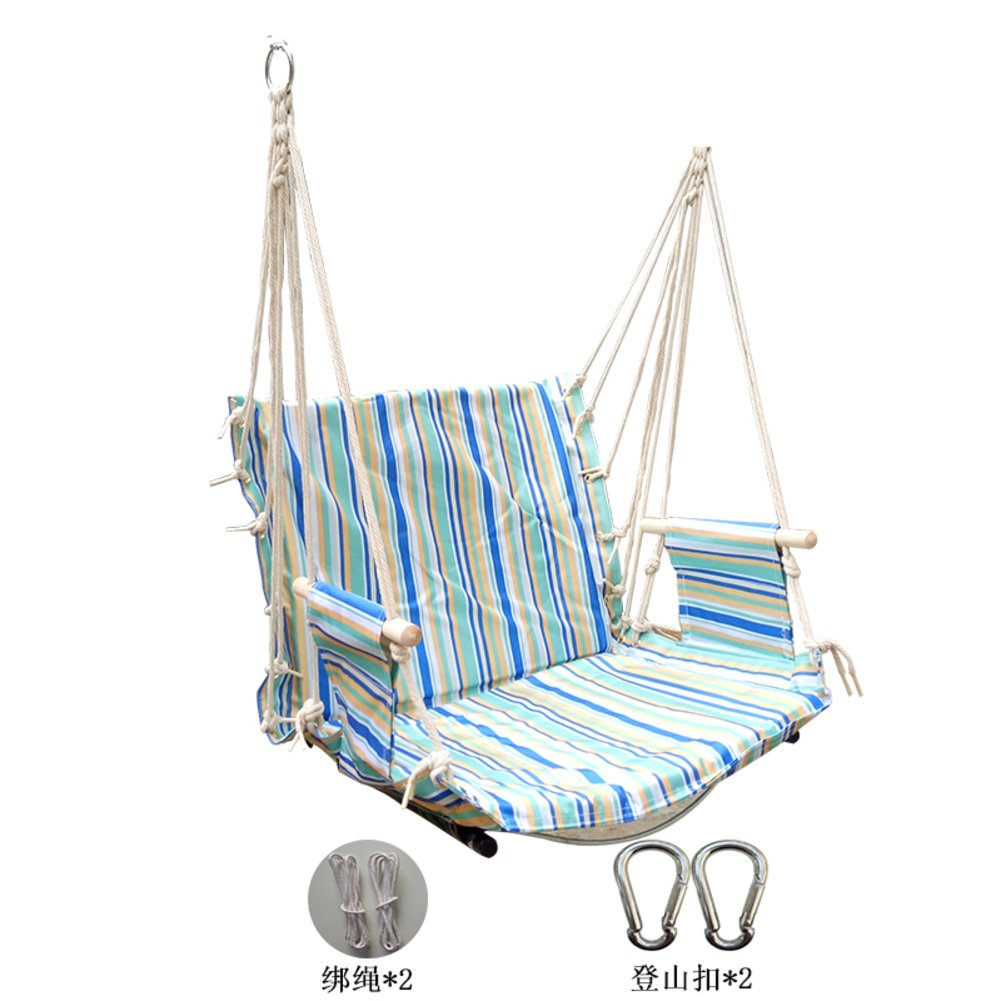 GX&XD Tragbares Leichtgewicht Hängesessel,Hängestühle Für Indoor Outdoor Schlafsaal Verstärken Schaukelbett