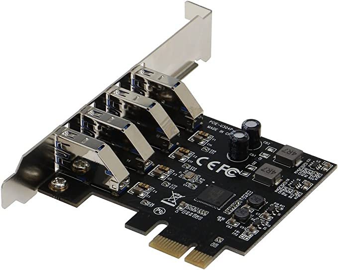 Sedna PCI Express USB 3.1 Gen I (5 Gbps) adaptador de puerto 4 con ...