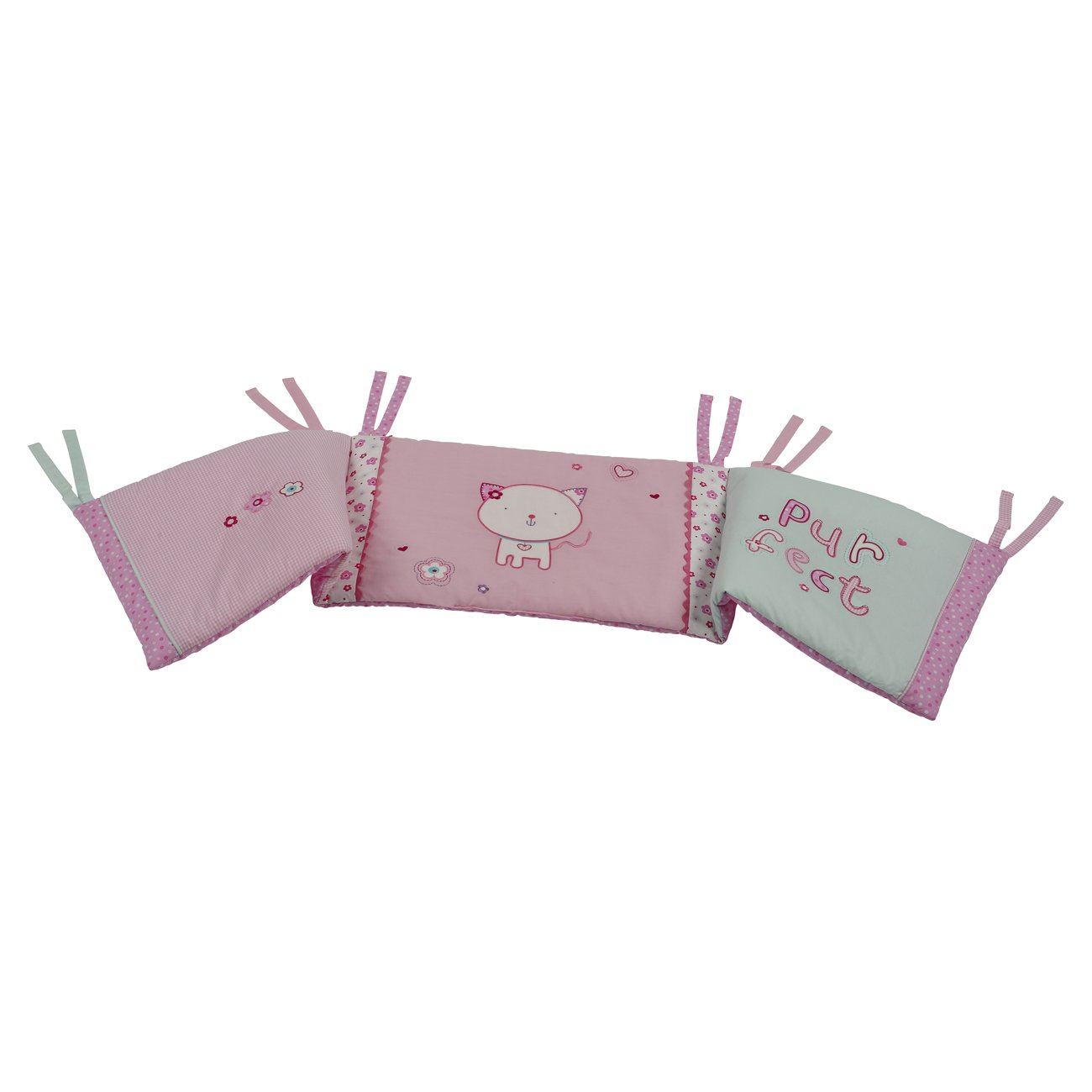 Bed-e-Byes Purfect Cot/Cotbed Bumper 280/177/28