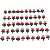 """HeroNeo® - Gocciolatore per tubo di irrigazione, attacco 1/4"""", 50 pezzi"""