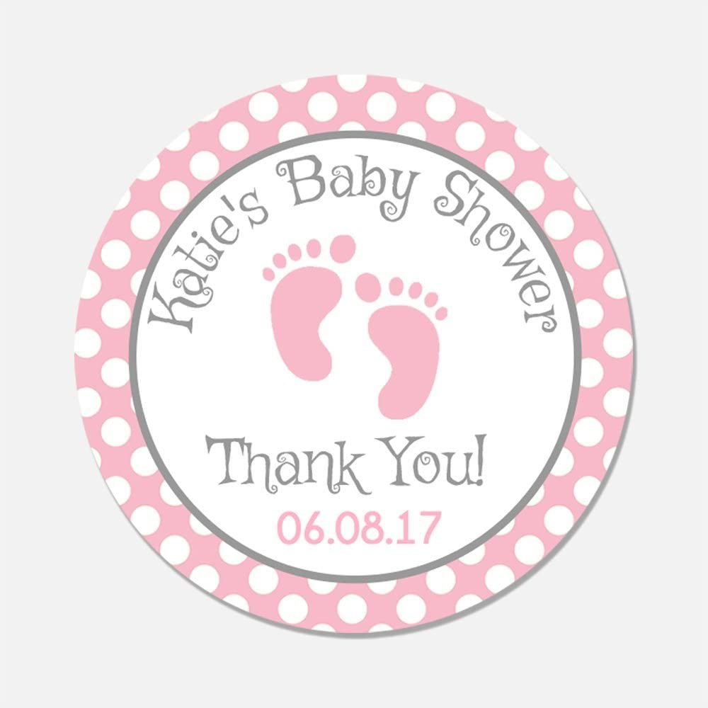 10 x Personalised Baby Shower Sweetie Bags DIY Baby Shower Favour Kits
