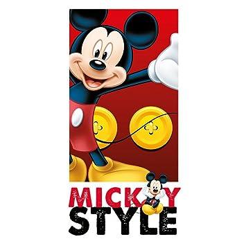 Mickey Mouse Toalla Cool Mickey Toalla de playa Disney Towel Toalla para niños Mickey Style: Amazon.es: Deportes y aire libre