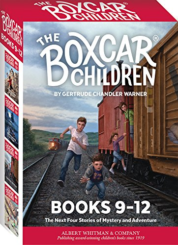 The Boxcar Children Mysteries Boxed Set #9-12 Boxcar Children Book Series