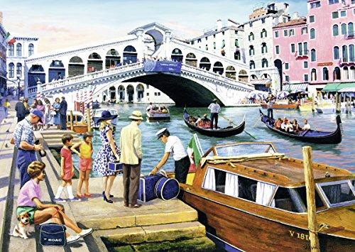 Ravensburger Puzzles Vintage Venice, Multi Color (1000 Pieces)
