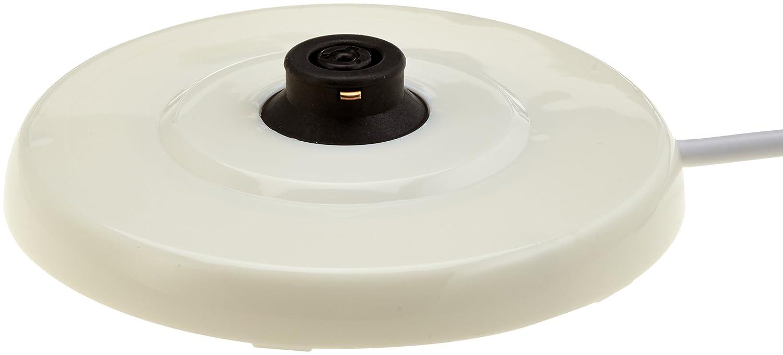 Color blanco Cer/ámica 0.8 litros Dise/ño: I Love Holland 1800 W Bestron DTP800H Hervidor de Agua Retro