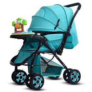 WYX-Stroller Cochecitos De Bebé Cochecitos para Niños High ...