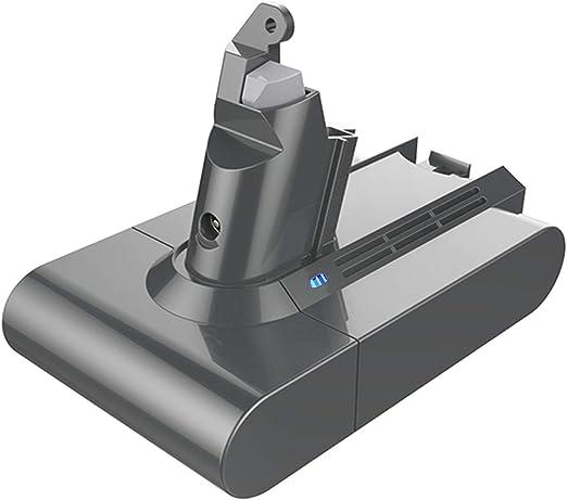 Flylinktech - Batería de repuesto para aspiradora Dyson DC59 V6 DC58 DC61 DC62 DC72 DC74 SV03 SV05 SV06 SV07 SV09 (3000 mAh, 21,6 V): Amazon.es: Hogar