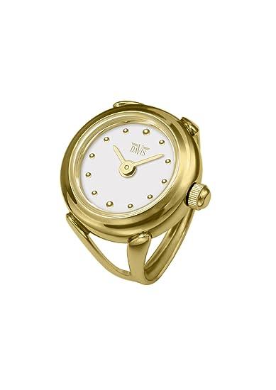 l'ultimo b0b23 4fcb9 Davis - Ring Watch 4180 - Anello Orologio Donna Oro Giallo ...