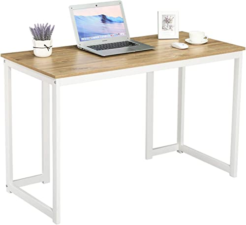 GreenForest Computer Desk 47'' Sturdy Writing Desk Modern Simple Style PC Laptop Study Table