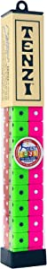 TENZI Dice Party Game - A Fun, Fast Frenzy for The Whole Family - 4 Sets of 10 Colored Dice with Storage Tube - Colors May Vary
