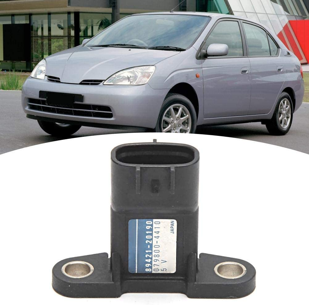 Terisass Air Pressure Sensor 89421-20190 Car Vehicle Manifold Absolute Air Pressure Sensor 079800-4990 for Toyota Prius 2001 2002 2003