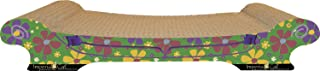 product image for Imperial Cat Comfort Couch Scratch 'n Shape, Retro Green Floral