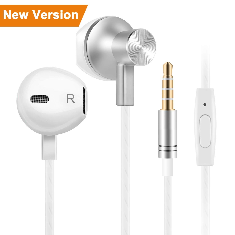 Bestfy Ecouteurs Intra-auriculaire - Oreillettes ecouteurs Samsung Kits  piéton filaires stéréo Jack 3.5mm 4034c0d3f773