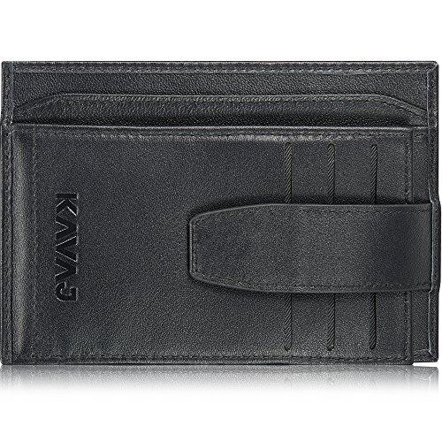 KAVAJ Echtleder Geldbörse Geldbeutel Brieftasche