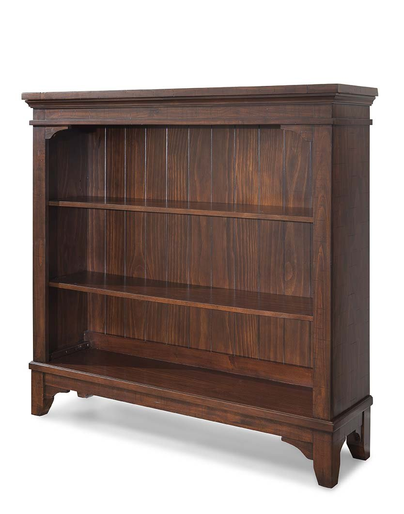 Westwood Design Hayden Convertible Hutch/Bookcase, Rough Sawn Espresso