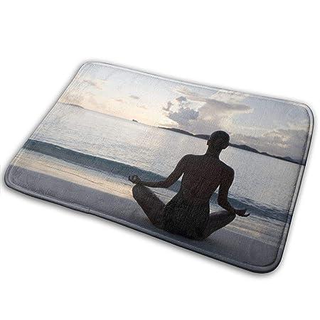 MGTXL Felpudo Antideslizante para Interior de Yoga, 15,7 ...
