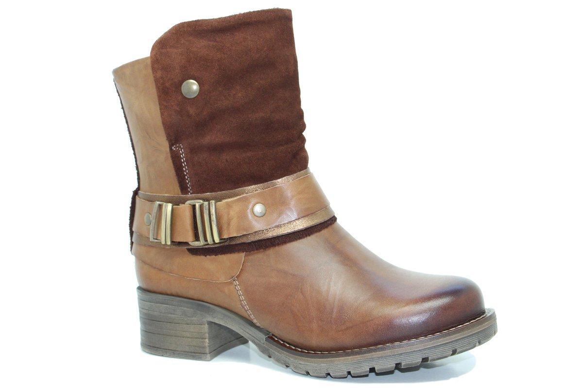 Dromedaris Women's Kikka Boot B014I1AGL4 39 M EU|Saddle