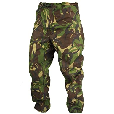 British Army Goretex Trousers DPM Waterproof - Elasticated Leg - Grade 1  USED