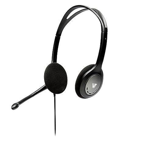 V7 HA201-2EP V7 Cuffie Standard Stereo con microfono leggere  Amazon ... d15eb23b87a8