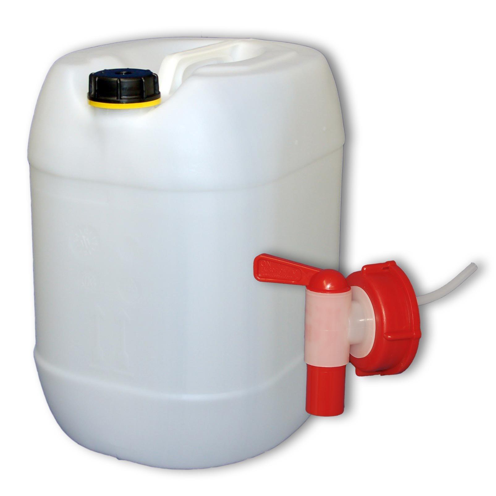 30 L Wasserkanister Mit Hahn, DIN 61 Product Image