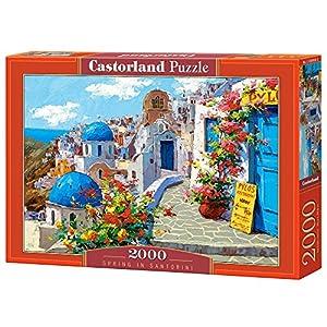 Castorland C200603 Spring In Santorini Puzzle Da Pezzi