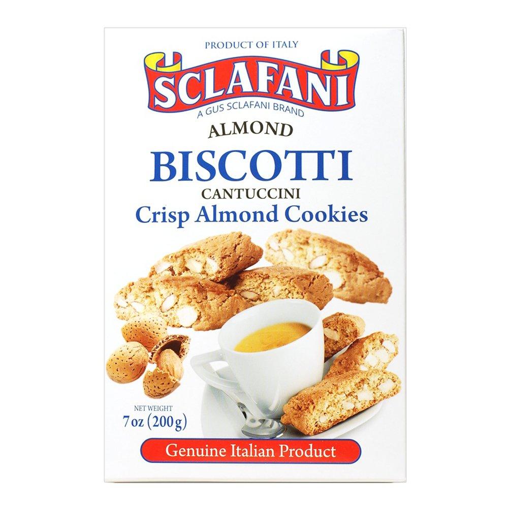Biscotti Cookies 7 oz (200 grams) Boxes (12 Almond)
