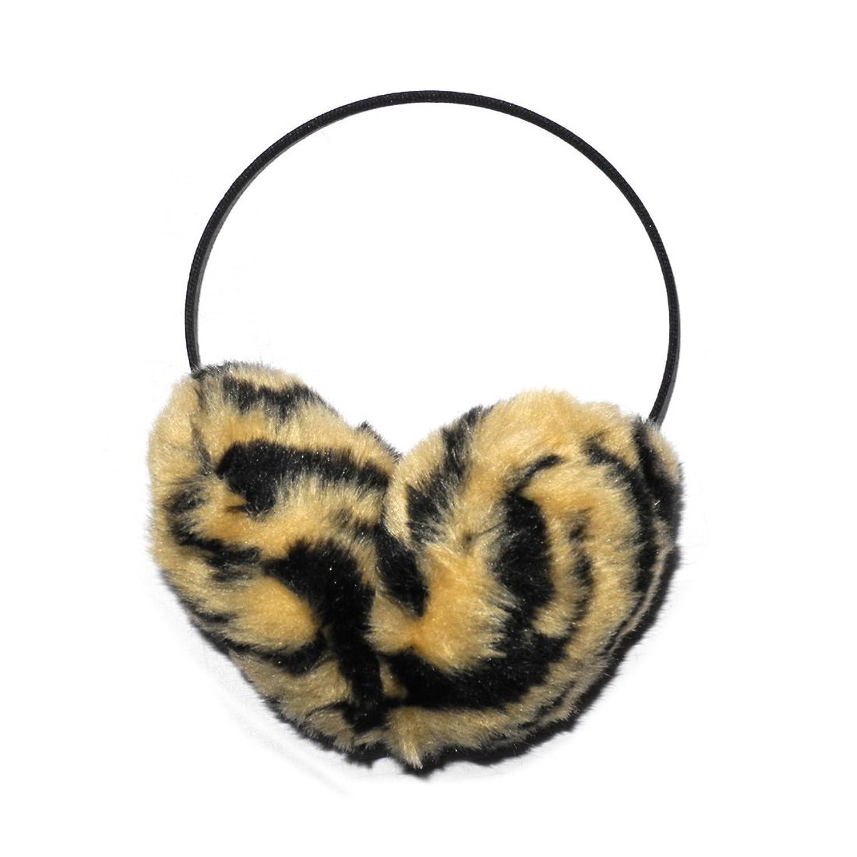BEHIND THE HEAD: Damen Warmer Winter Ski & Snow Faux Fur Ohrenwärmer-Stirnband