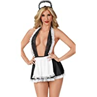 BeeMuse Trajes Colegiala Enfermera Picardias Disfraces Schoolgirl Lencería Vestido Cosplay Uniforme para Mujeres
