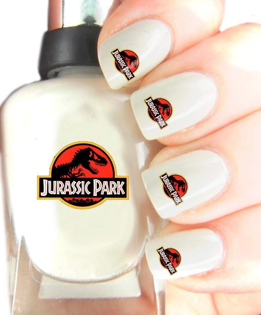 Easy to use, High Quality Nail Art Decal Stickers For Every Occasion! Ideal Christmas Present / Gift - Great Stocking Filler Jurassic Park SNAD