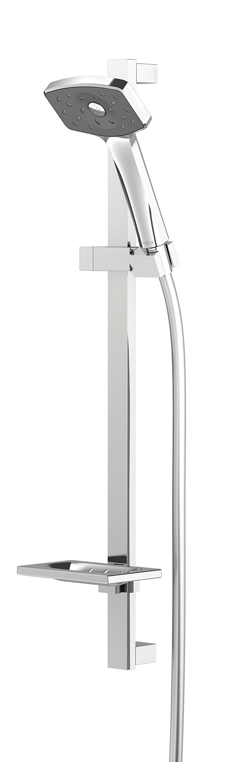 Methven Waipori Modern Bathroom Slide Bar Wall Mount Handheld Shower Head Revolutionary Experience with Satinjet Patented Technology