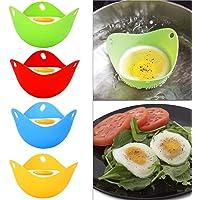 T.face Huevos furtivos de Silicona, Egg Cooker Tazas