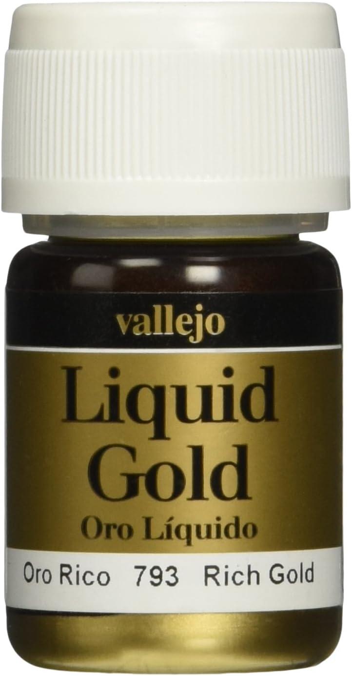 AV Vallejo Modelo Color -Oro rico (Metales 35ml)