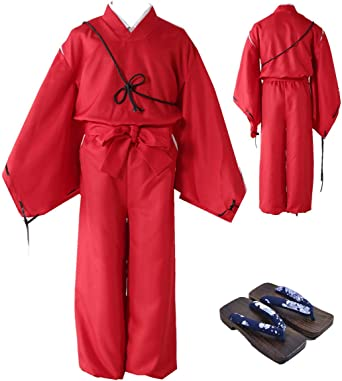 witch costume Complete uniform costume Complete Outfit Anime Inuyasha