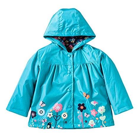 mamum chaqueta cortavientos capucha chaqueta Blazer Niña ...