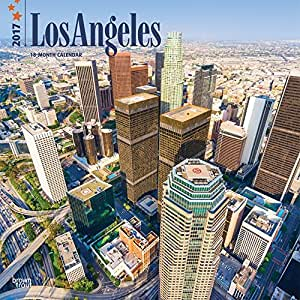 2017 monthly wall calendar los angeles office products. Black Bedroom Furniture Sets. Home Design Ideas