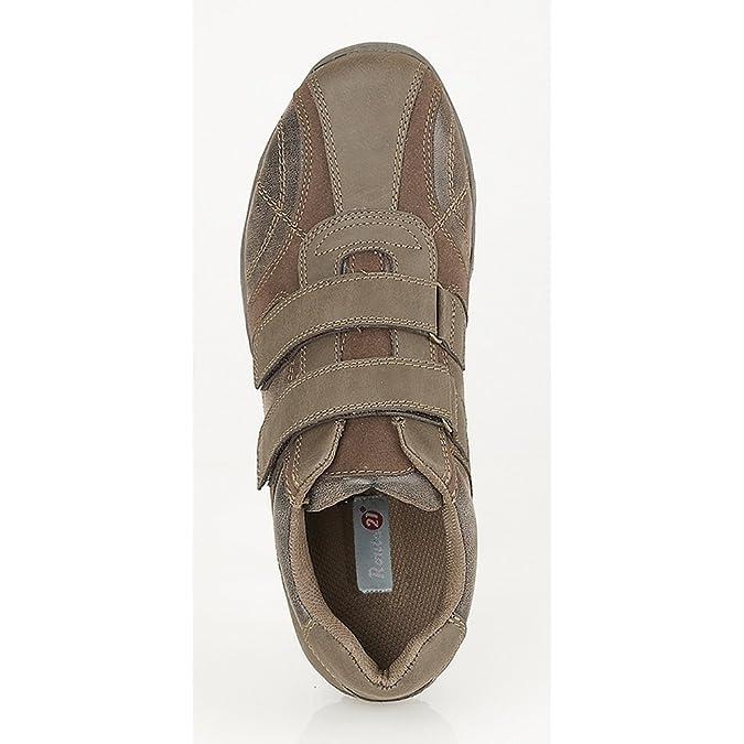 fa079c18801b5 Route 21 - Zapatos  Zapatillas casuales con cierre de velcro Hombre  Caballero  Amazon.es  Zapatos y complementos
