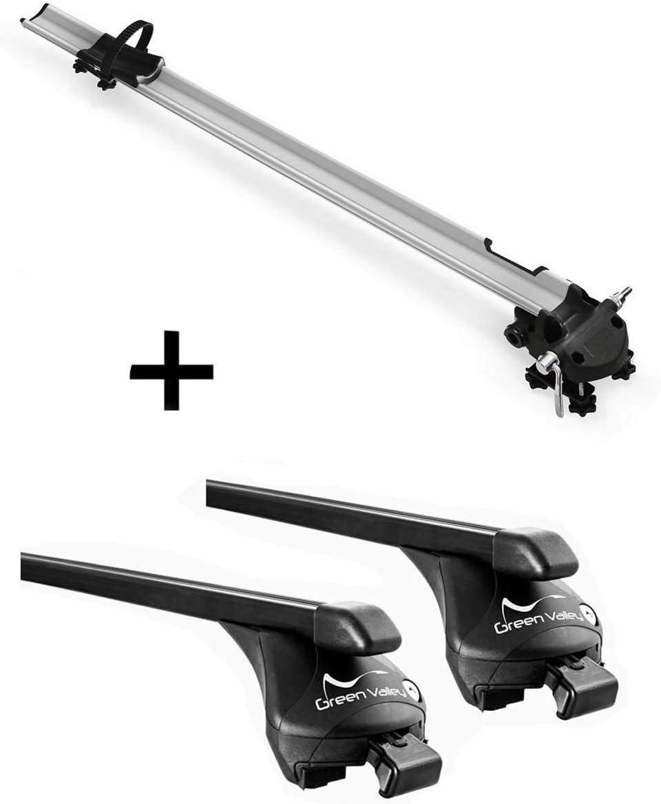 dal 2019 5 Porte vdp Barre Portapacchi in Alluminio Quick compatibili con Skoda Kamiq