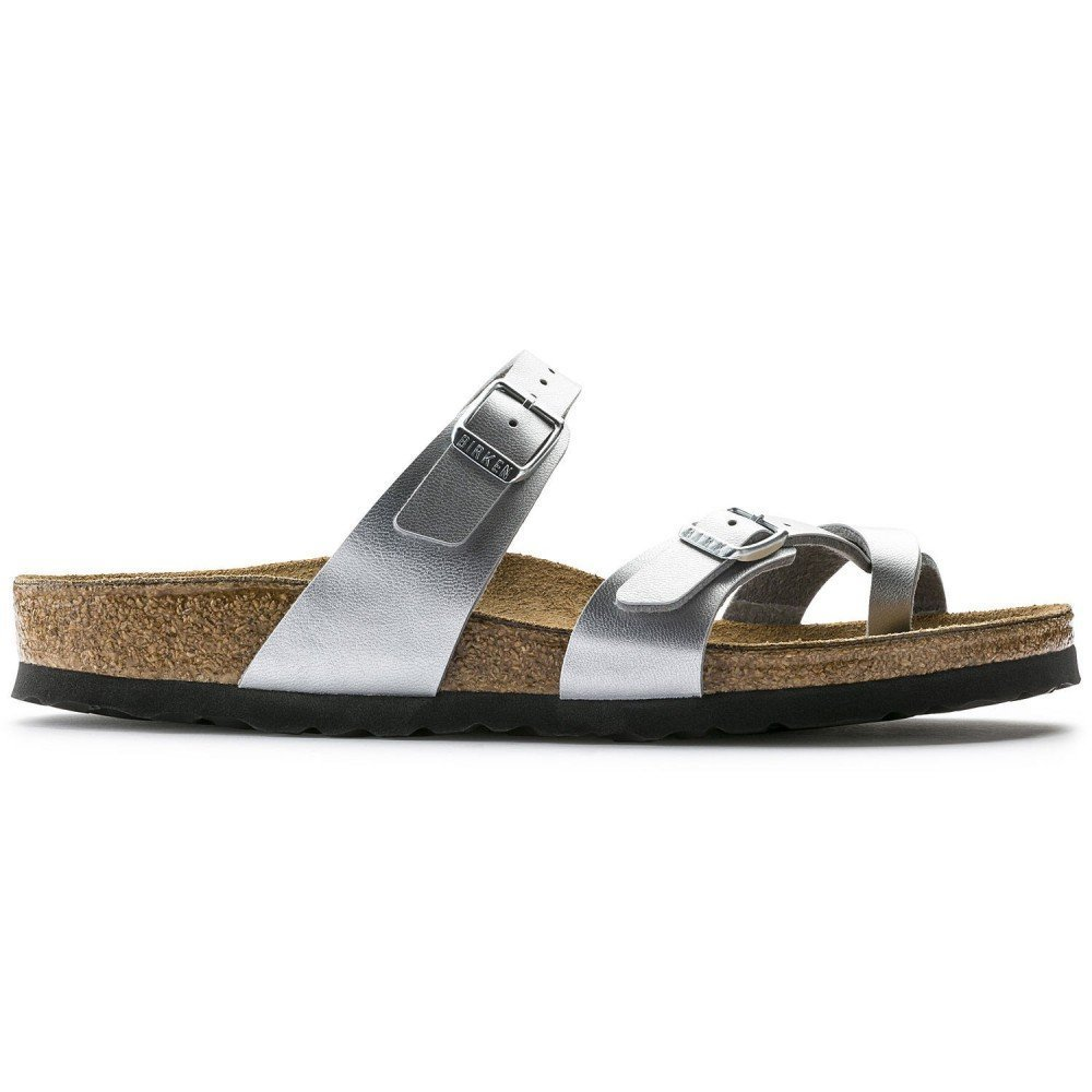 Birkenstock Women´s Mayari Silver Birko Flor Sandals 35 N EU N 071083