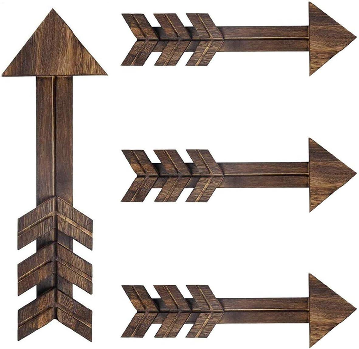 Ekotech Rustic Wood Arrow Sign Wall Decor,15