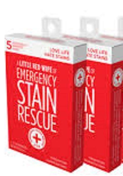 Amazon.com: Toallitas para eliminar manchas de emergencia ...
