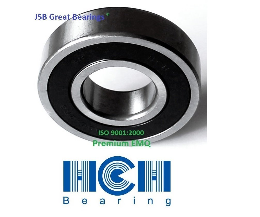 6306RS 30x72x19 Sealed 30mm//72mm//19mm Deep Groove Radial Ball Bearings