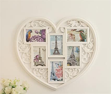 DDJ Frames Wall Hanging Collage Picture Frame, Fits Standard 64 Inch ...