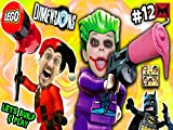Glitchy Joker Chase & Harley Quinn Steals Slurpir Slushie