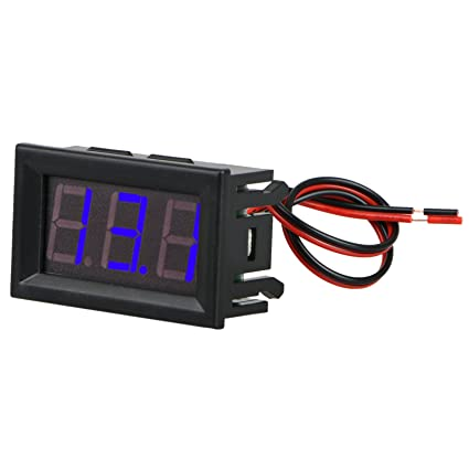 Miraculous Amazon Com Linkstyle Dc 3 30V Led Digital Display Voltmeter Wire Wiring Cloud Hisonuggs Outletorg