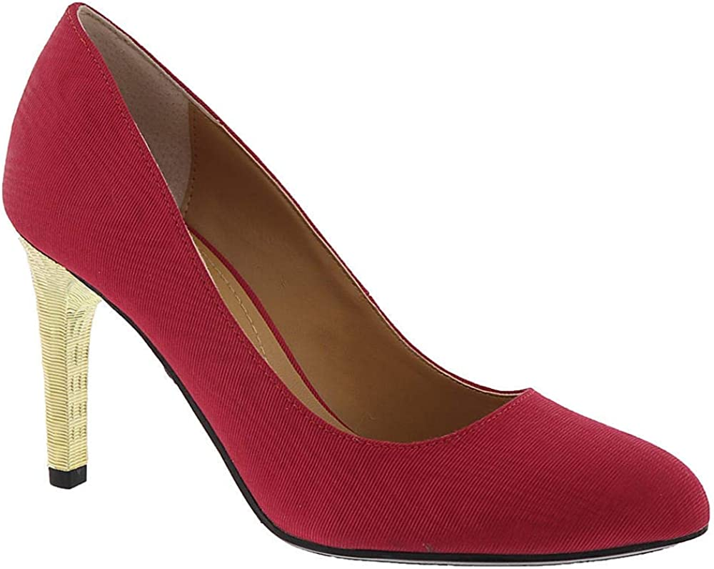 Renee Womens Gilana Ribbed Textured Pumps J