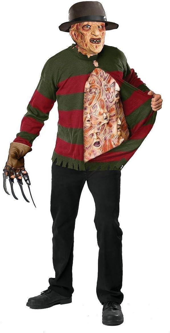 Rubbies - Disfraz de Freddy Kruger para niño, talla única ...