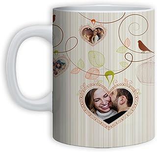 Tazza Mug Love Idea Regalo San Valentino Birds Love