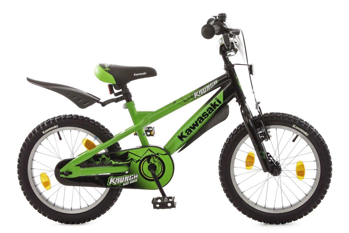 Bachtenkirch Kinderfahrrad 16& 039;& 039; Kawasaki Krunch grün-schwarz